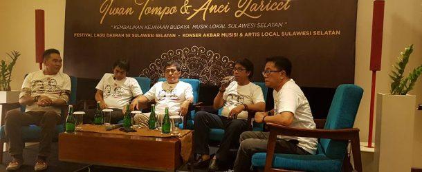 Tribute To Iwan Tompo & Anci Laricci Berhadiah Rekaman Album, Begini Tawwa Syaratnya